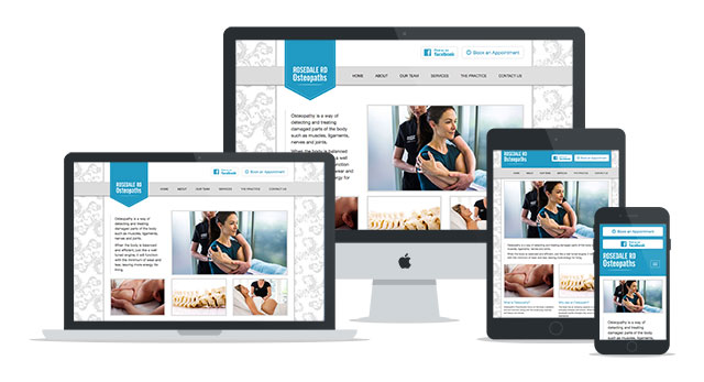 Osteopathy for Everyone website